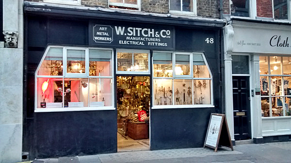 W. Sitch & Co shop front